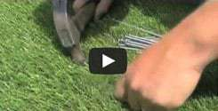 synthetic turf installation video san diego